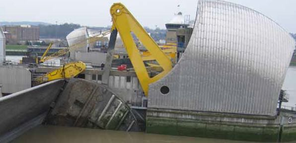 ZERON® 100 - Used To Extend The Lifespan Of The Thames Barrier