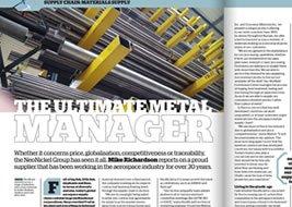 Aerospace Manufacturing Magazine Article