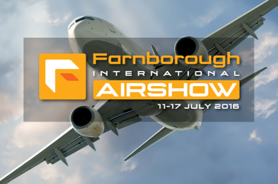 Join us at Farnborough International Airshow 2016