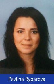 New Starter: Pavlina Ryparova