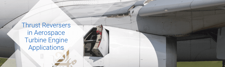 Thrust reversers in aerospace turbine engine applications