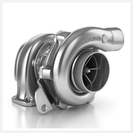 Turbocharger casing in automotive engine systems
