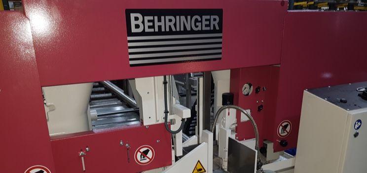 Behringer band saw HBP430A machine