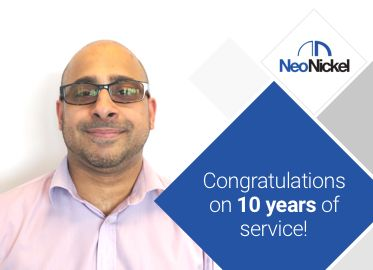 Congratulations on 10 years of service Imran!