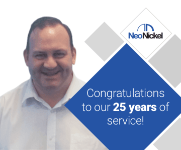 Trevor Whillas - Celebrating 25 years of service!