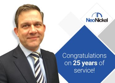 Thanking for 25 years of service