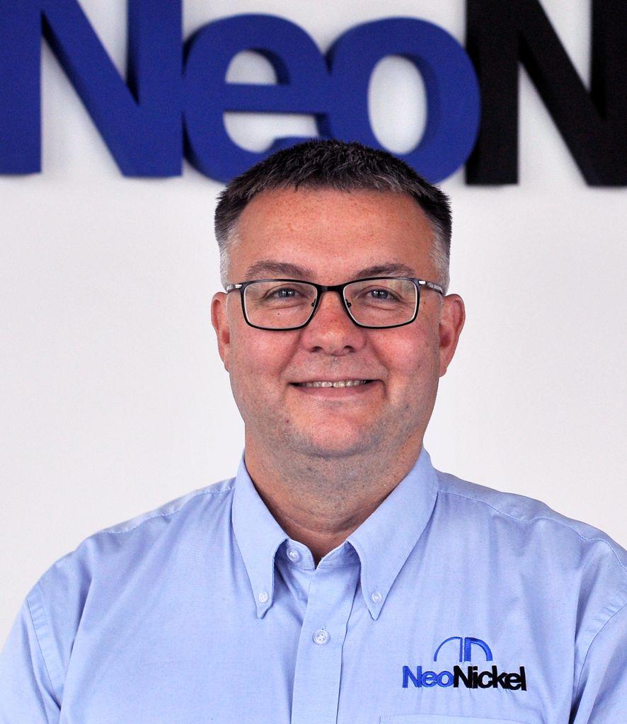 General Manager of NeoNickel Blackburn